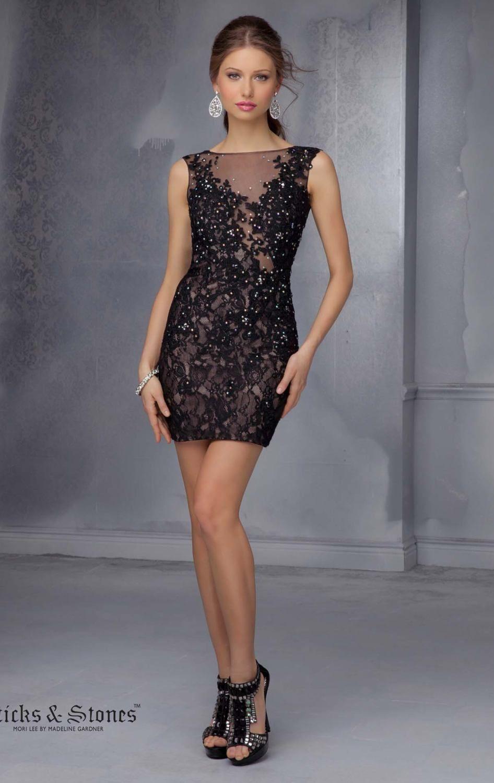 Mori Lee 9296 Dress - MissesDressy.com | STICKS & STONES | Pinterest