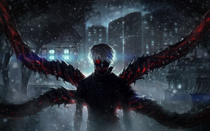 Anime Wallpaper Tokyo Ghoul Hd 4k