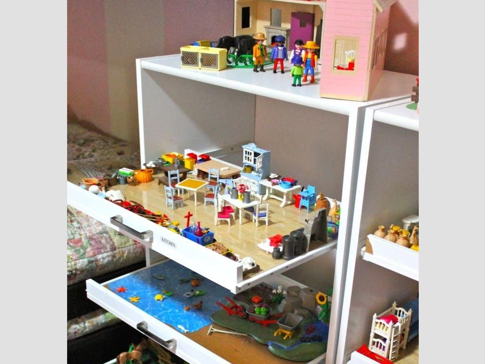 Love this! Kinder zimmer, Kinderspielzimmer, Playmobil