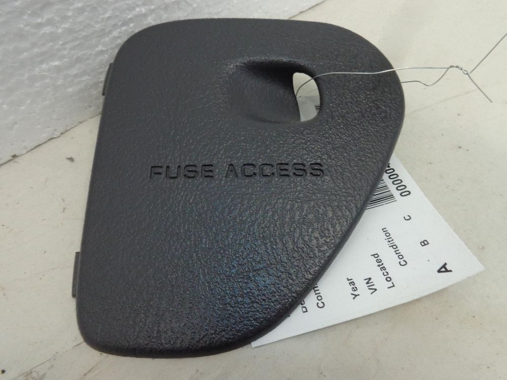 Dodge Ram Dash Fuse Panel Cover Mist Gray 98 99 00 01 Ru36vk9ab Dodge Ram Fuse Panel Dodge