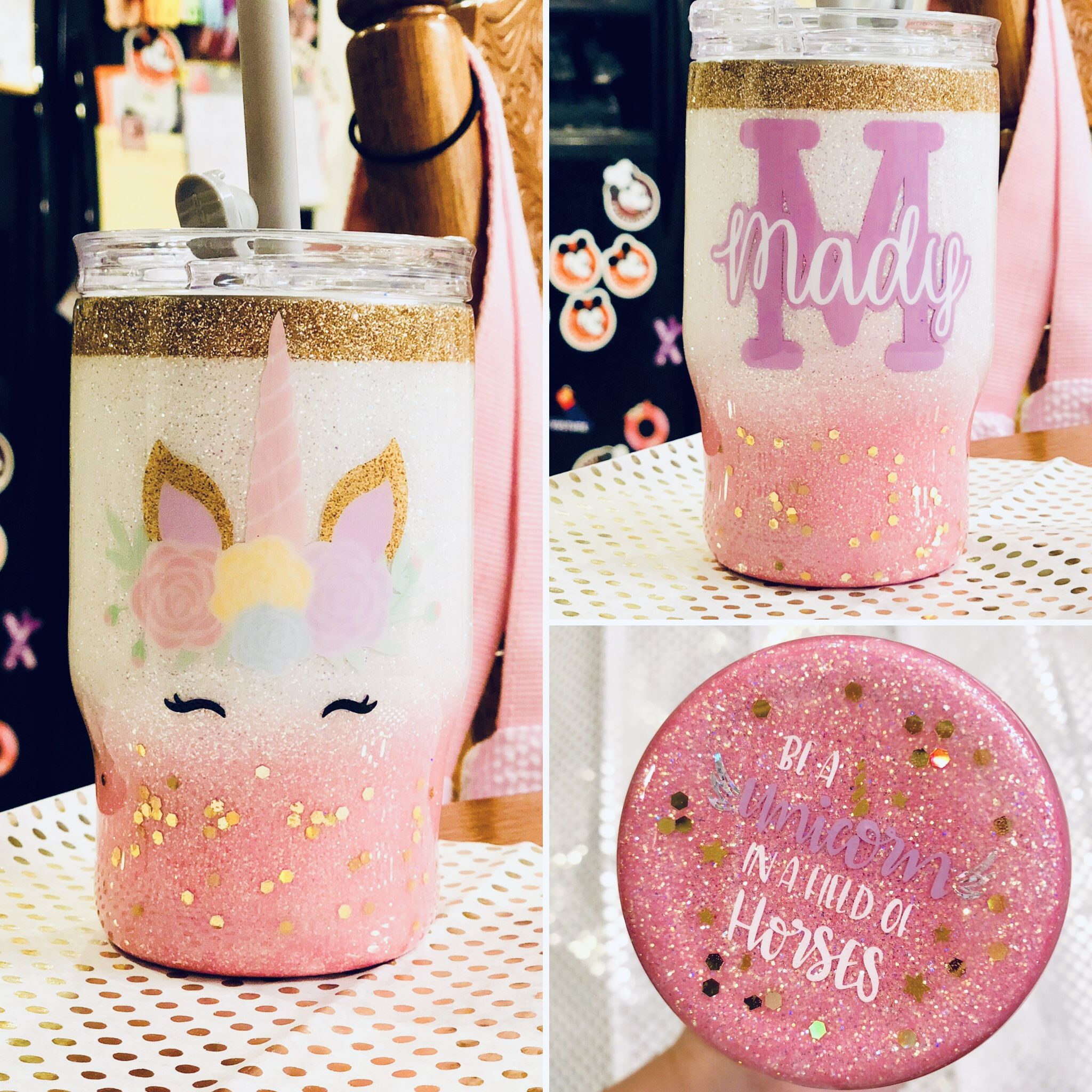 Kids Personalized Glitter All in One
