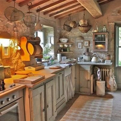 Cucina Home ideas Pinterest Rustic decor, Kitchens and House