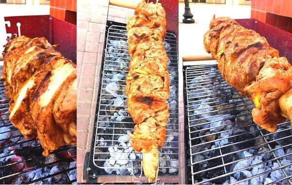 طريقة عمل سيخ شاورما دجاج منزلي اطيب من المطاعم طريقة Recipe Cooking Recipes Cooking Recipes