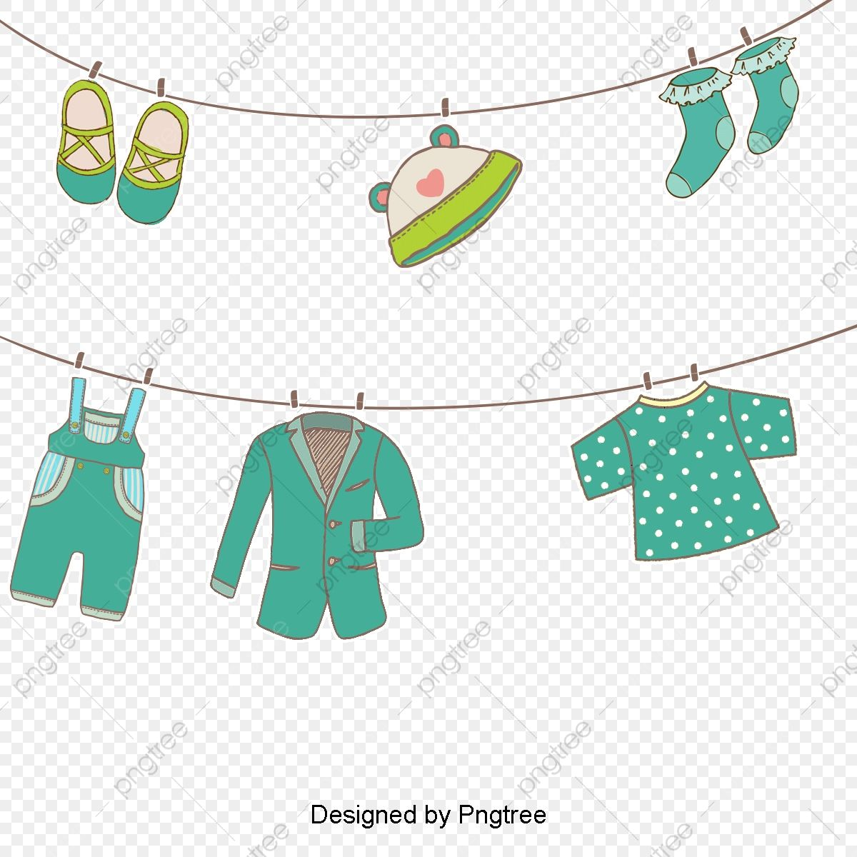 Vector Hanging Clothes, Hd, Vector, Clothing PNG