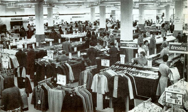 Marks And Spencers Store In Plymounth In 1950 M S Became The Best