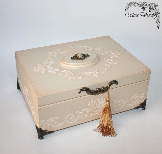 Exklusive Schatulle Box schachteln Kästchen wood von UltroViolet