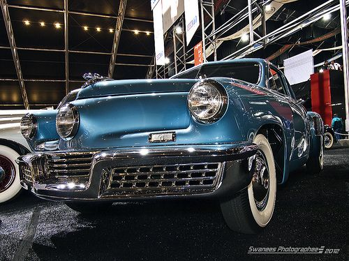 1948 tucker torpedo sadly only 51 cars were made this car is now rh pinterest com