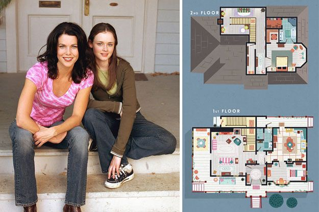 here s how your favorite tv show homes would look like in real life rh pinterest com