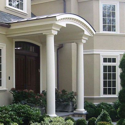 Pin By The Styled Home On Beautiful Exteriors Porch Roof