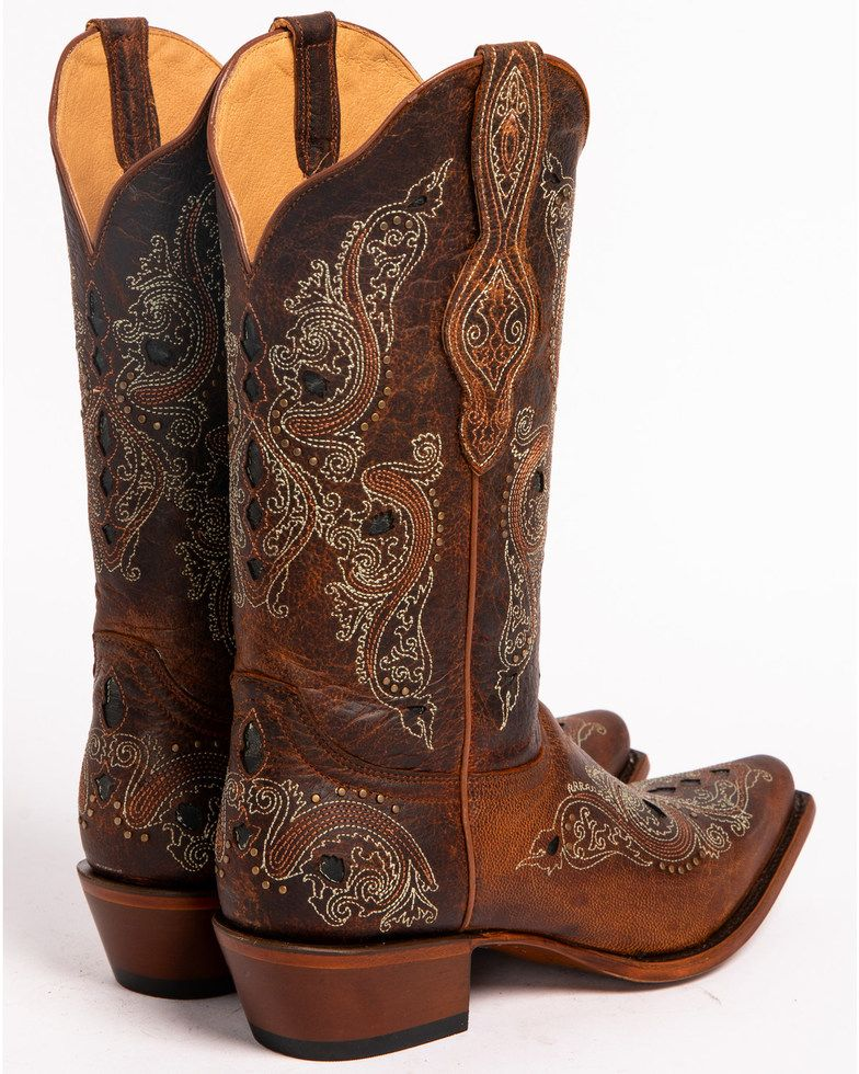 womens brown cowboy boots