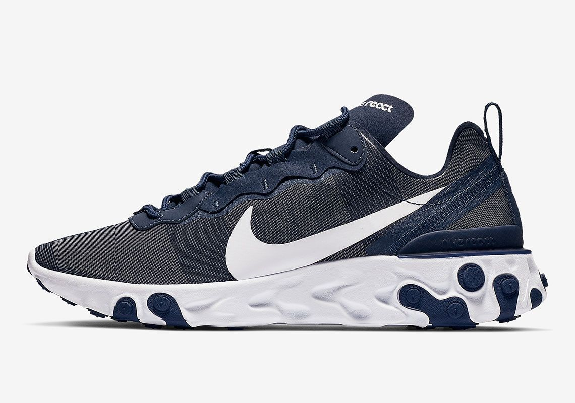 ed2a721b81c Nike React Element 55 Midnight Navy Is Dropping Soon