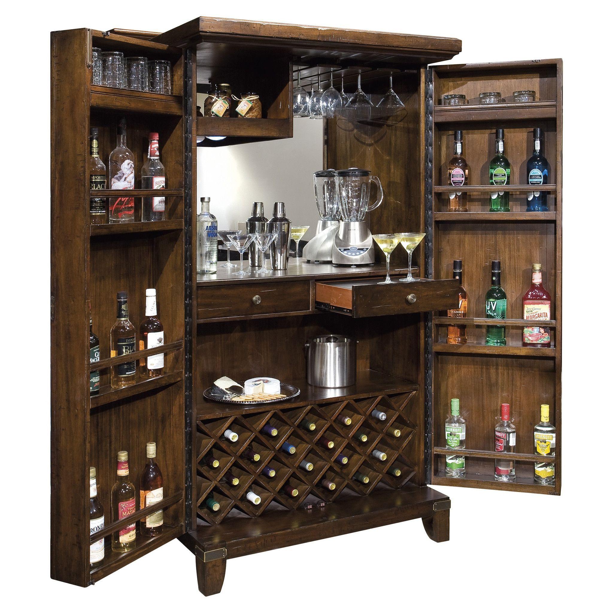 Howard Miller Rogue Valley Wine & Bar Cabinet 695-122 | Alkohol