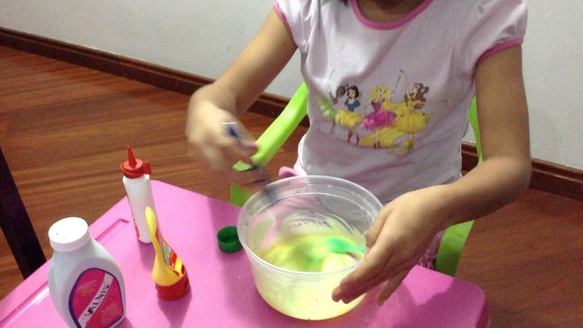 Como hacer slime o moco de gorila sin brax cmo se hace como hacer slime o moco de gorila sin brax ccuart Image collections