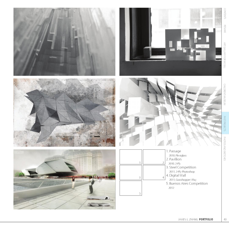 Interior Design Architecture Photography Portfolio: ISSUU - Architecture Portfolio By James Zhang
