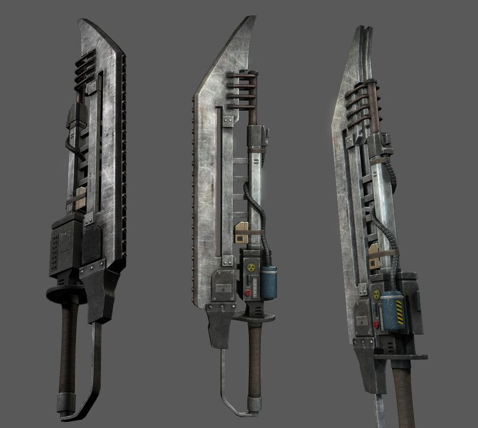 9 More Crazy Weapons: Sword Of Atom By Xenoo.deviantart.com On @DeviantArt
