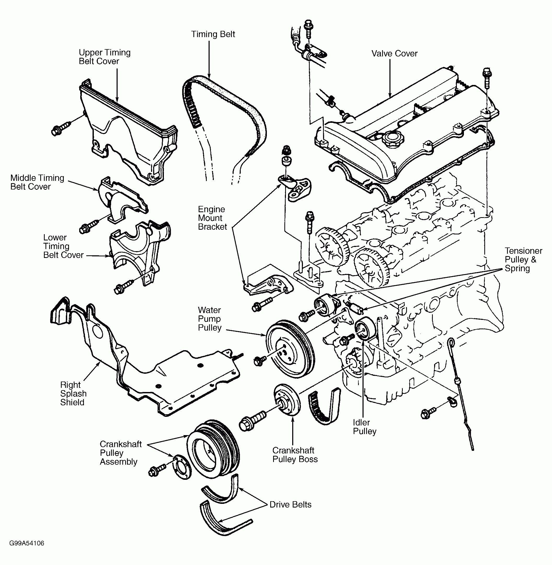 2002 Mazda Protege5 Engine Diagram Di 2020