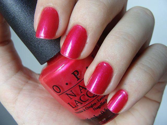 OPI Ladies & Magenta-Men- favorite color!!   My favorite things ...