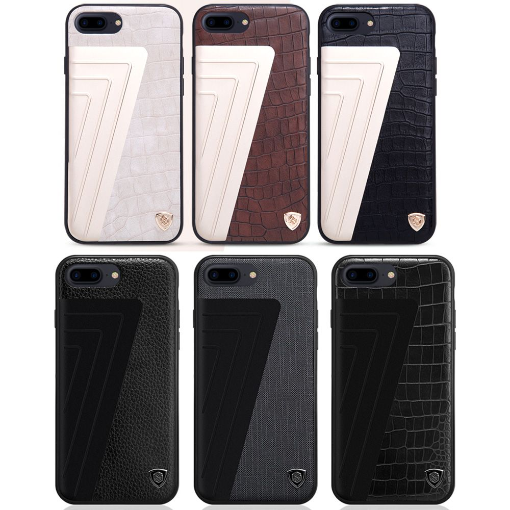 >> Click to Buy << For Apple iPhone 7 Plus Cover Original Nillkin Choice Alligator Leather Pattern Business Phone Case Soft Frame for iPhone7 Plus #Affiliate