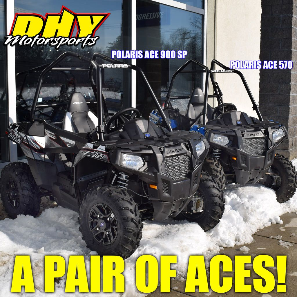 Looking for offroad fun? We've got a couple Aces up our sleeves. The #Polaris #Ace #900SP & #570 #DHYMotorsoprts