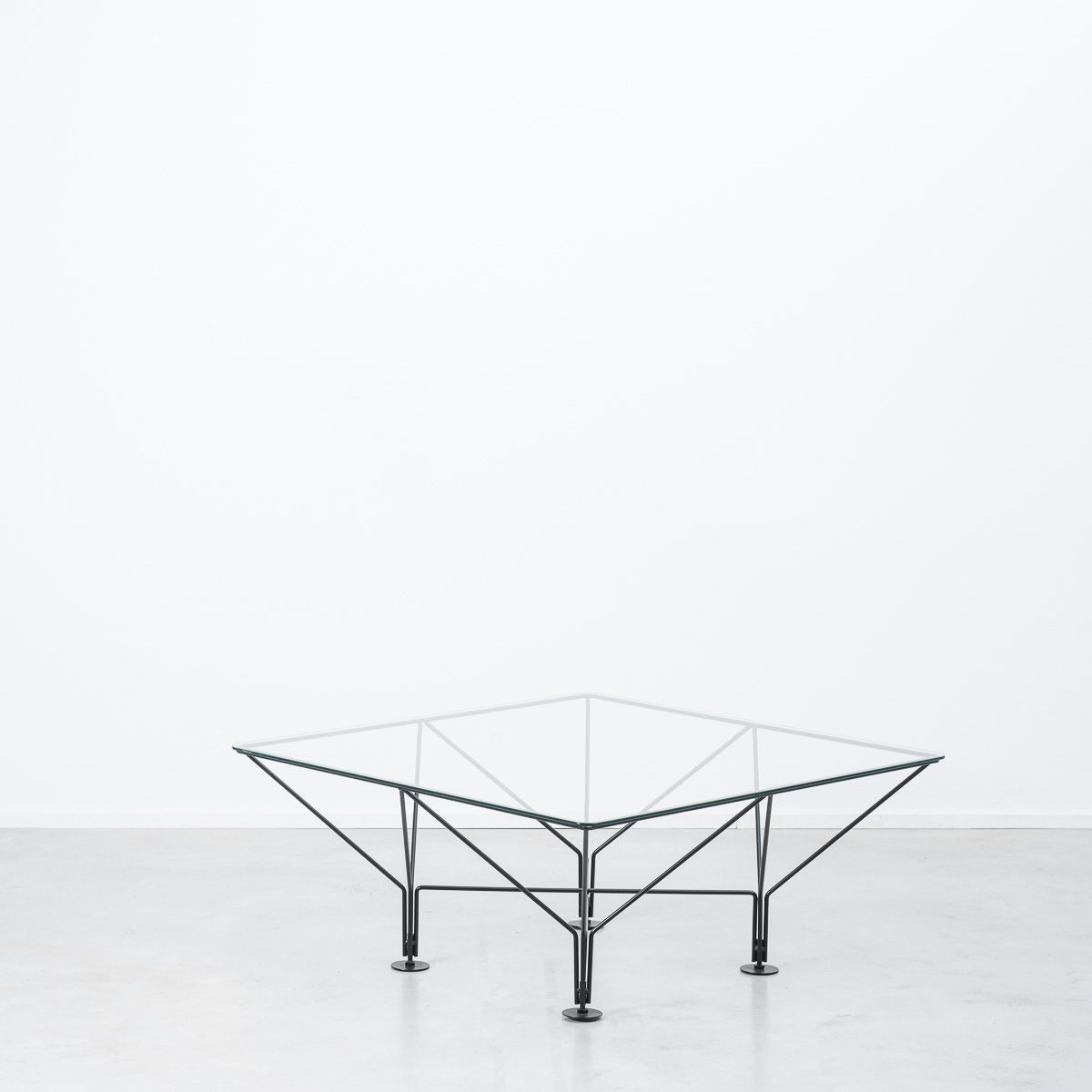1980s Wire frame table attr. Paolo Piva | Béton Brut | Furniture ...