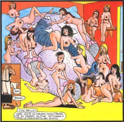 Und pornografische comix #2