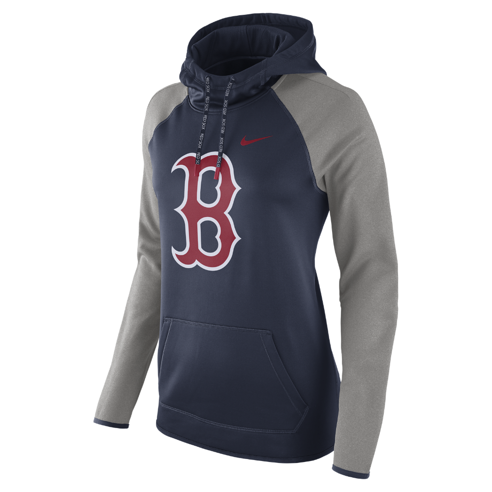 designer fashion 06650 0ac30 Therma-FIT Pullover (MLB Red Sox) Women's Hoodie | Products ...
