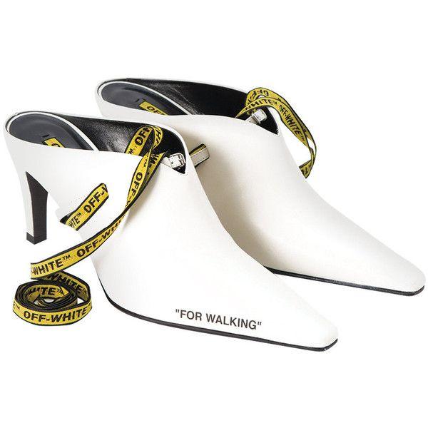 afac91fa7cd Off-White c o Virgil Abloh Heeled Mule ( 1