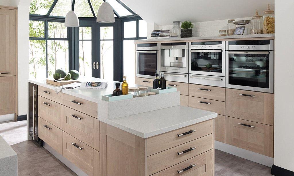 The Broadoak shaker kitchen in a rye