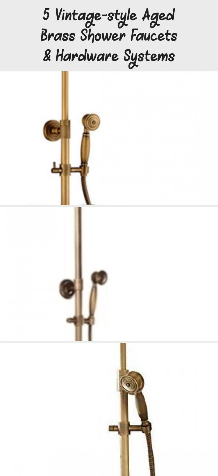 Photo of 5 Vintage-style Aged Brass Shower Faucets & Hardware Systems – Home Decor