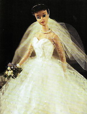 Vintage Barbie Print, Wedding Dress Barbie, Girls Room Decor, Barbie Wall Art