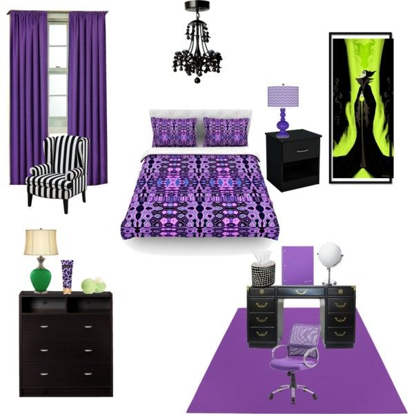 Mal S Bedroom From Descendants Jazalynn Room Ideas