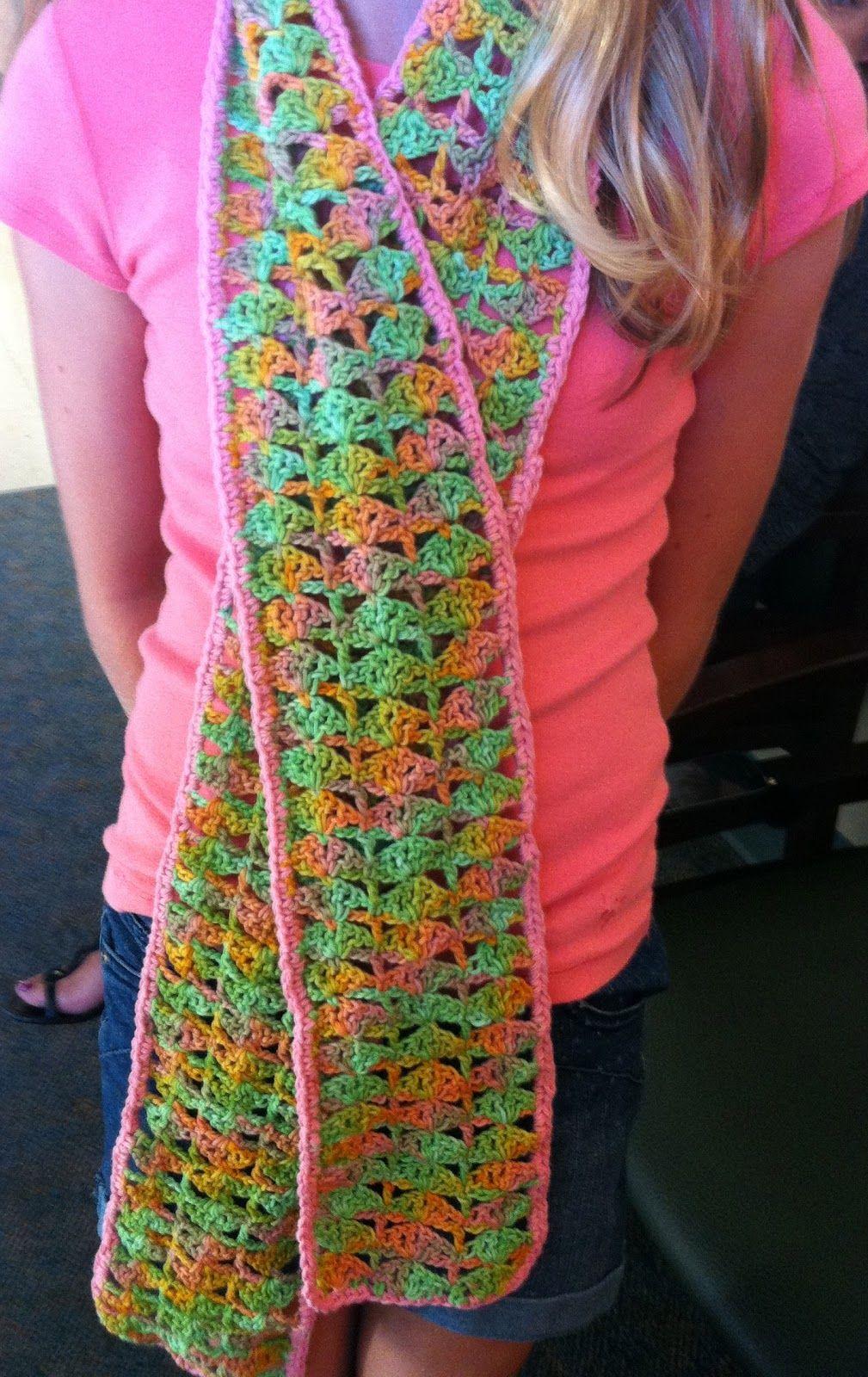 Free Scarf Pattern   Hook and Yarn   Pinterest