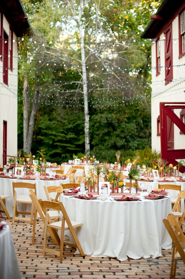decorating ideas for outside wedding ceremony%0A Outdoor Wedding Ceremony in Virginia  Simple yet elegant  Aline      Rustic  coach house
