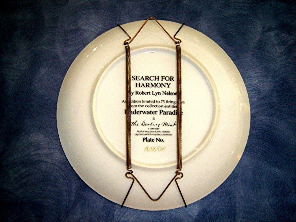 Van Hygan /& Smythe Plate Hanger FRANKLIN Hamilton plate