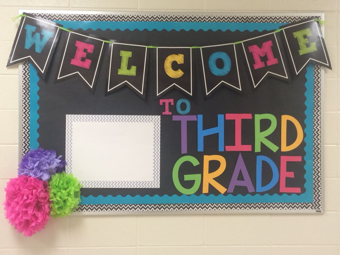 Welcome Back To School Third Grade