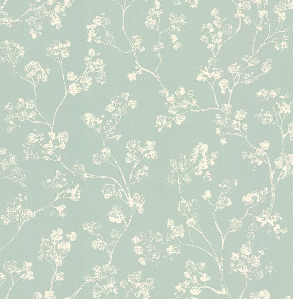 Kew By Ian Mankin Mint Wallpaper Wckewmin Mint Green Decor