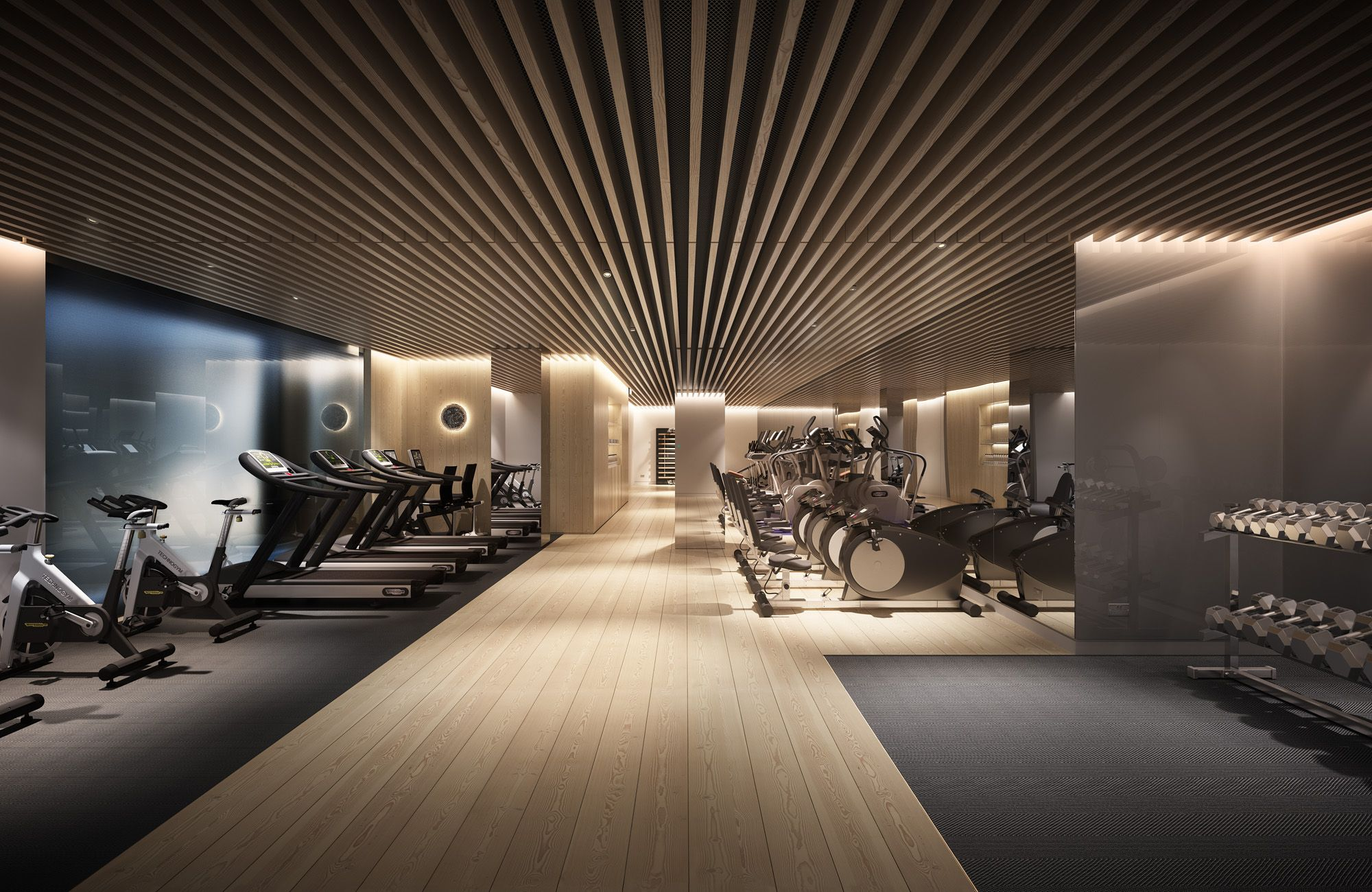 Mayfair Park Residences For Clivedale London Plp Architecture And Jouin Manku Architectural Visualisation Cgi Gym Design Interior Gym Room Home Gym Design