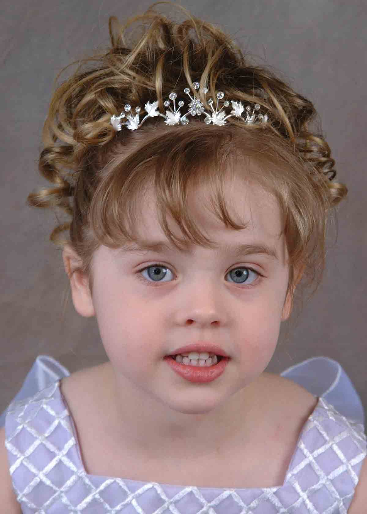 Kids hairstyles for short hair girls - 50 Gorgeous Kids Hair Accessories And Hairstyles