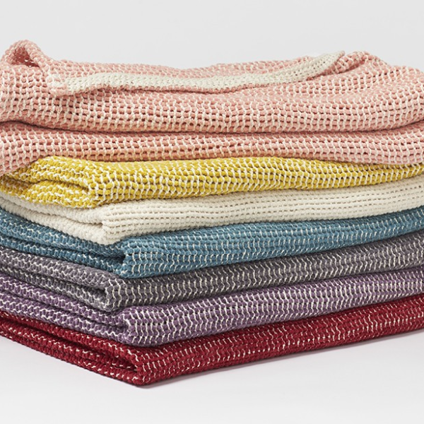 Coyuchi Organic Chenille Cotton Blanket Woven Throw Woven Blanket Woven Throw Blanket
