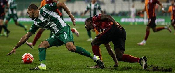 Bursaspor-Galatasaray karşılaşması