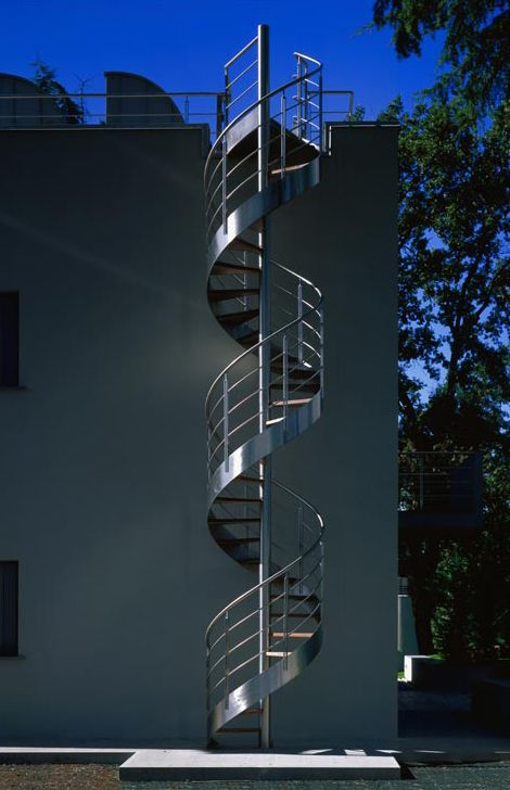 Best Exterior Spiral Staircase Design In Metal Monumental 400 x 300