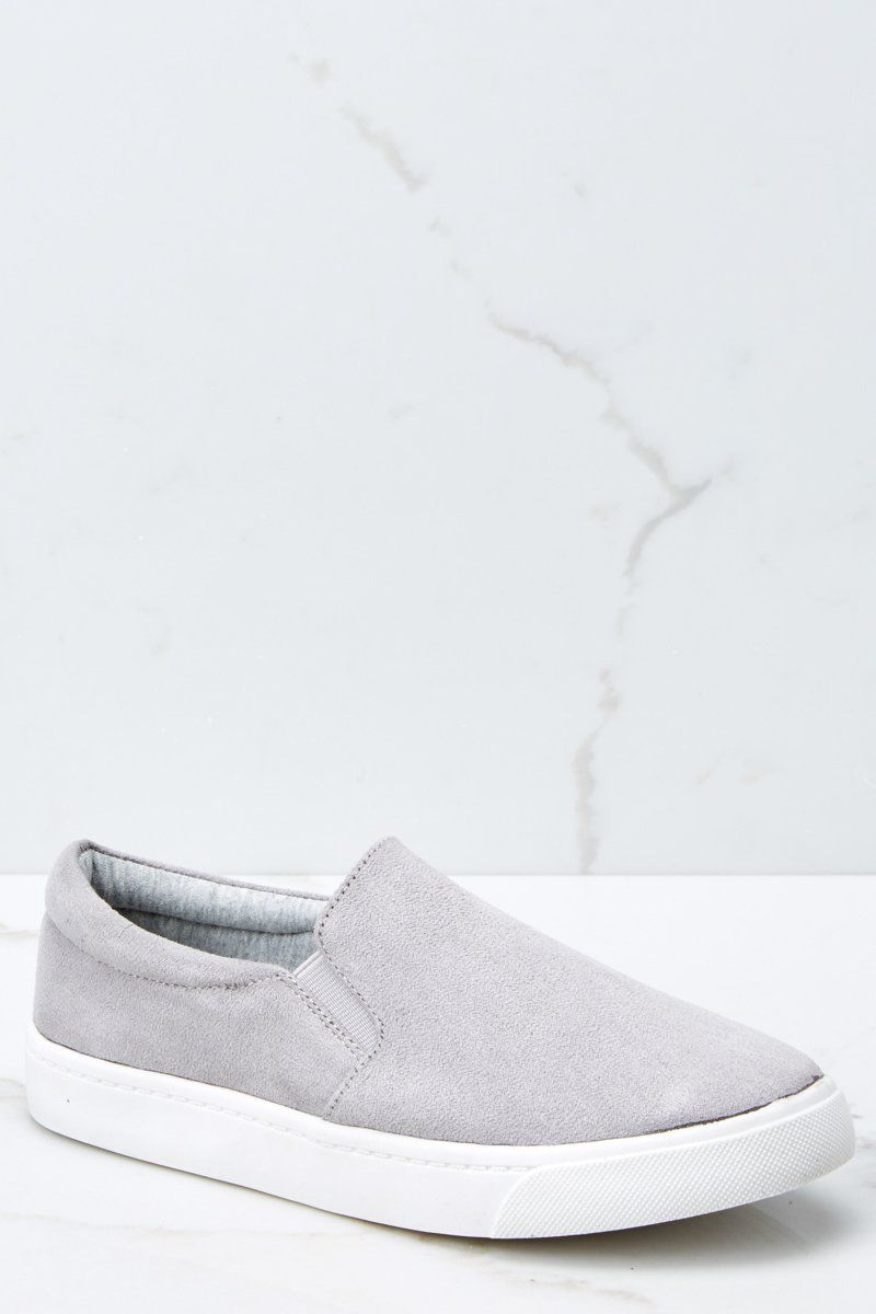 Stylish Grey Slip On Sneakers Vegan Suede Slip Ons Shoes 38 00 Red Dress Boutique Slip On Sneakers Black Slip On Sneakers Outfit Best Sneakers [ 1200 x 800 Pixel ]