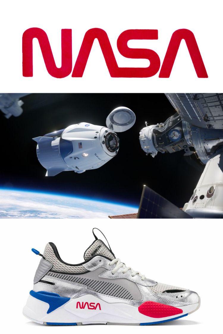 PUMA RS-X SPACE AGENCY Silver/Grey