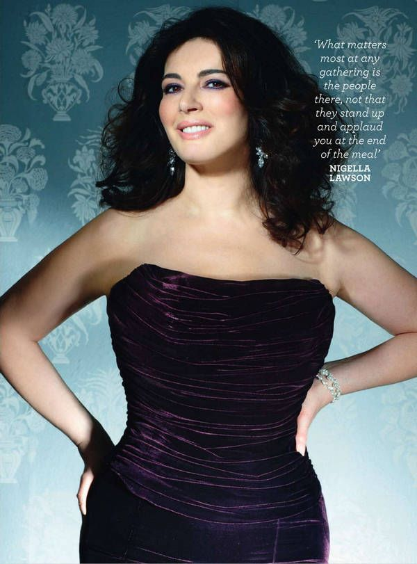 Nigella Lawson Layers Dress Not Sure What I Think Of It But Like The