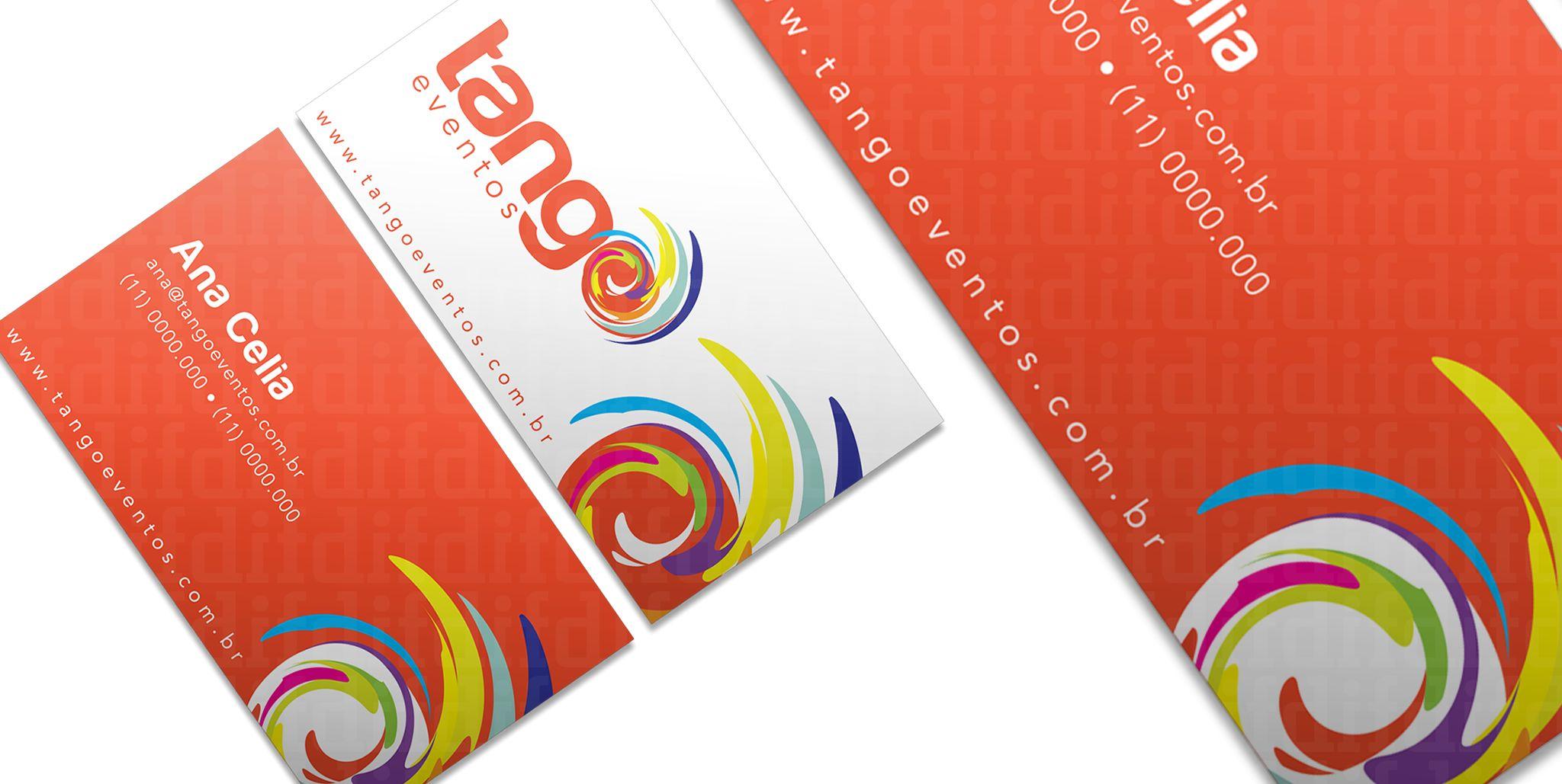 Tango Eventos Branding