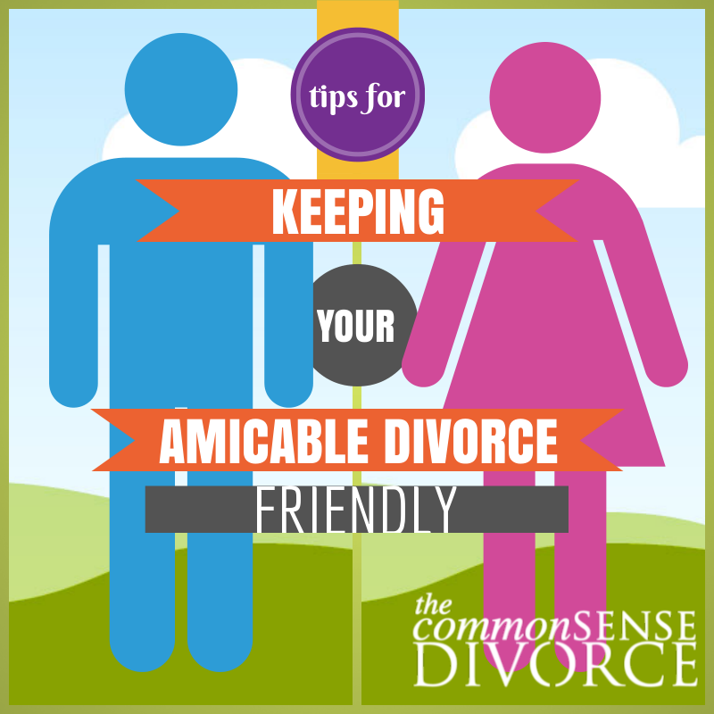 Ending a marriage amicably