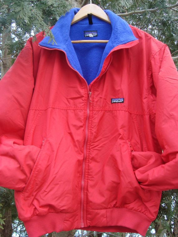 90s Patagonia Fleece Lined Jacket Vintage by FleecenStuff on Etsy ... fb90f1186