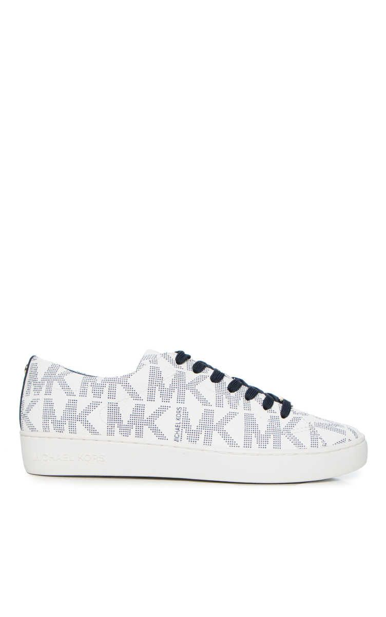a33d7c15b8a Sneakers Keaton Lace Up WHITE/NAVY - Michael - Michael Kors - Designers -  Raglady