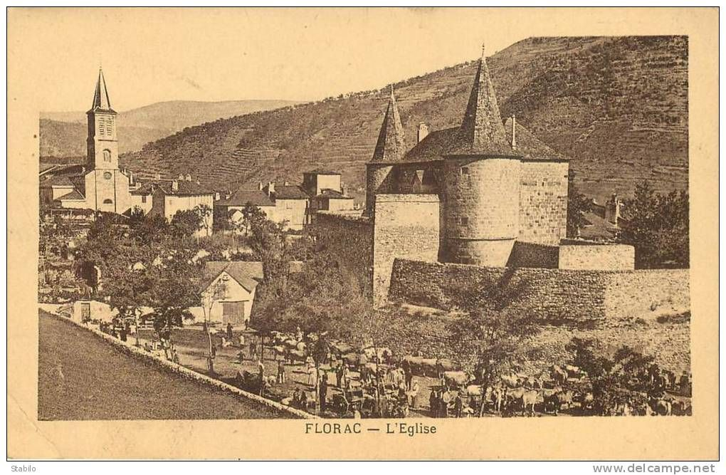 Cartes Postales > Europe > France > 48 Lozère > Florac - Delcampe.fr | Carte postale, Carte ...