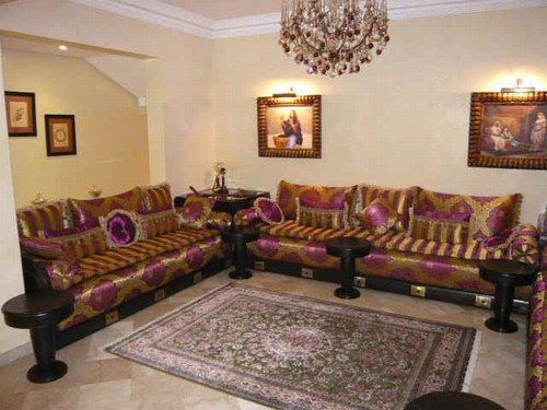 Salons Marocains Luxueux Interiors